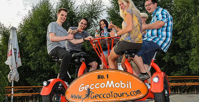GeccoTours macht Erlebnisse - so auch mit dem besonderen GeccoMobil