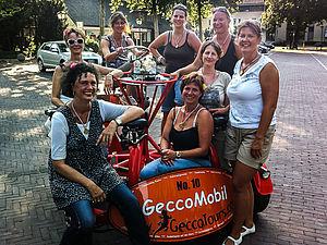GeccoMobil und Boot