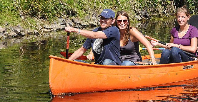 Freuen Sie sich auf eine nette Bootstour auf der Niers